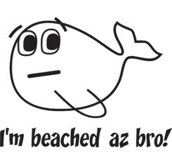 I'm Beached Az Bro!