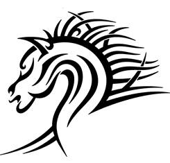 Horse Head : Tribal