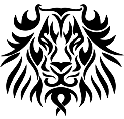 Lion Head : Tribal