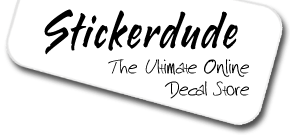 Stickerdude.com.au - The ultimate online vinyl sticker superstore.