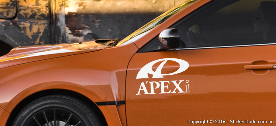 Apex Sticker | Worldwide Post | Range Of Sticker Colours