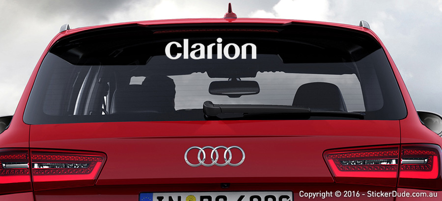 Clarion Sticker | Worldwide Post | Range Of Sticker Colours