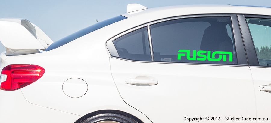 Fusion Sticker | Worldwide Post | Range Of Sticker Colours