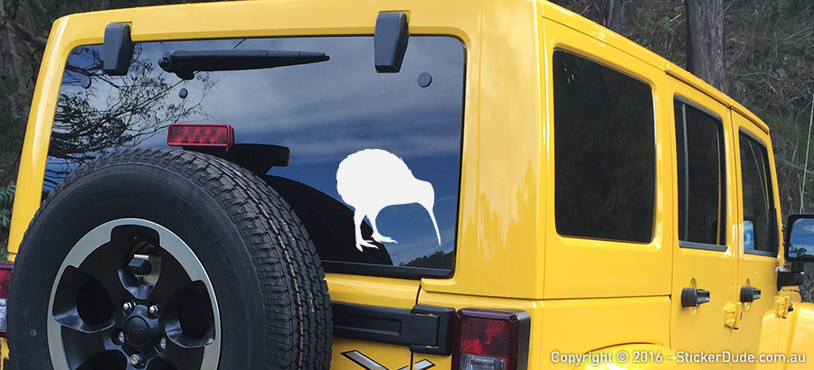 Kiwi Bird V1 Sticker | Worldwide Post | Range Of Sticker Colours