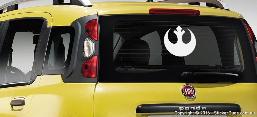Rebel Alliance - Star Wars Sticker | Worldwide Post | Range Of Sticker Colours